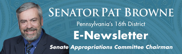 Senator Pat Browne E-Newsletter